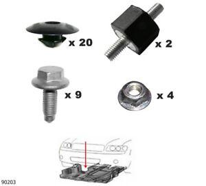 Unterfahrschutz Einbausatz Unterboden Repair Kit CLIPS Seat Alhambra 90203