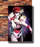 Hot Fabric Poster Hisoka Hunter X Hunter Cartoon 36x24 30x20 40x27inch Z3333