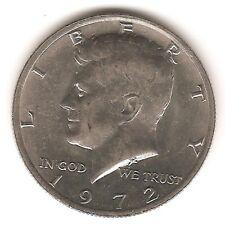 1972 Kennedy Half Dollar - AU