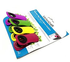 Kitchen Craft Set of 4 Magnetic Memo Clips Extra Strong Multi Purpose Kitchen