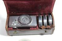 Kodak Vorsatzlinse N1 N2 N3 SET with Case Vintage UK Fast Post