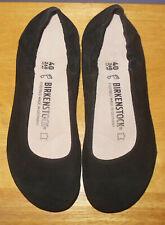 New Birkenstock Celina Black Suede Ballet Flats! Size 40 Euro 9 US