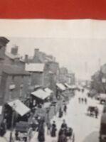Ephemera 1955 Reprint Picture Leek Derby Street 1905 Item 500mgbn