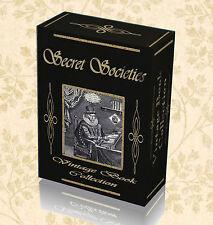 Secret Societies 175 Rare Books on DVD New World Order Illuminati Freemasonry 12
