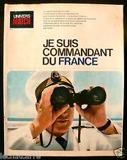 Univers Match N°5 - Paquebot France - Je suis Commandant du France - 1962