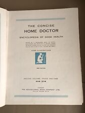 1950s Medical Book Vintage Mid Century Concise Home Doctor Vol 2 Illustrations