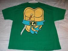 Leonardo Leo Ninja Turtle TMNT Costume Cosplay Green T-shirt Men's 2XL used