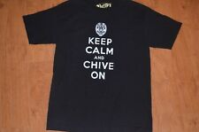 Keep Calm and Chive On police badge M t shirt KCCO gold label Bill Murray