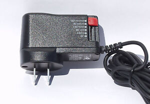 2x US Model Stecker Netzteil 3,0 - 12 Volt 1500mA Output bei input 100-240 V