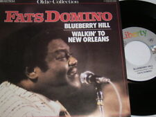 "7"" - Fats Domino Blueberry Hill & WALKIN to New Orleans-MINT # 0157"