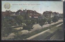 Postcard SEATTLE Washington/WA  Capitol Hill Area Large Family Houses/Homes 1907