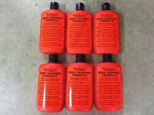 6 Bottles Hide Tanning Formula  Fur Deer Trapping  Hunting Raccoon Fox Coyote
