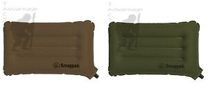 Snugpak Base Camp Ops Inflatable Air Pillow - choice of coyote or OD green