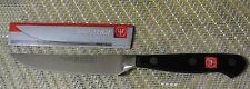 "Wusthof  NEW CLASSIC  steak knife black PEtec #4068/12cm 4.5""SOLINGEN GERMANY"