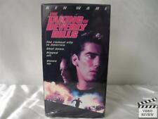 The Taking of Beverly Hills VHS Ken Wahl, Robert Davi