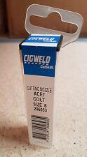 Cigweld Cutskill 206053 Cutting Nozzle Oxy / Acetylene Type 41 Size 6 New