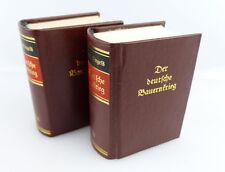 2 MINI LIBRI: il Deutscher contadini guerra Friedrich Engels Altdeutsche scritta e351