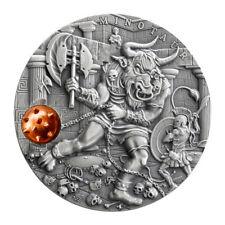 MINOTAUR Ancient Myths 2 Oz Silver Coin 5$ Niue 2017