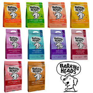 Barking Heads Dry Dog Food -  100% Natural Chicken - No Artificial Flavours, ...