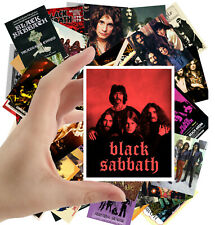 """Stickers pack [24 stkrs 2.5""""x3.5""""] Black Sabbath Rock Heavy Metal Music 5066"""