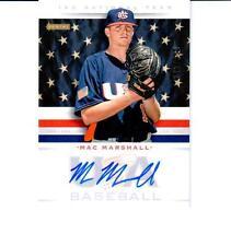 2013 USA Baseball 18U National Team Signatures #11 Mac Marshall Serial # 295/499