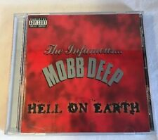 """MOBB DEEP - """"HELL ON EARTH"""" - 1996 CD RELEASE LOUD RECORDS #088561-1828-23"""