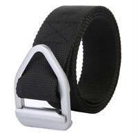 Outdoor Military Duty Belt Tactical Rigger Reinforced Belt Buckle Belts SS3