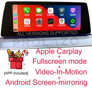 BMW EVO Carplay + Fullscreen + VIM + Android Screen-mirroring ALL VERSIONS #
