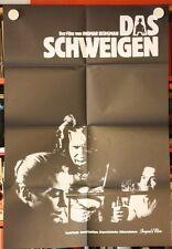 DAS SCHWEIGEN - Poster Plakat - Ingmar Bergman