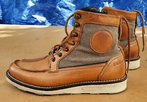 Dainese Tan-Tan Mens Motorcycle Boots Tap Shoe/Bungee Great Condition Pre-owned