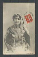 1913 Superbe Cp Obl. ALGER Rue de STRASBOURG. C315