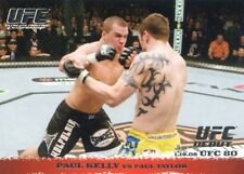 2009 TOPPS UFC ROUND 1 DEBUT  ROOKIE RC PAUL KELLY #79