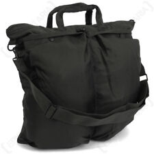 US Helmet Bag with Carrying Strap - Black Padded Pouch Shoulder Strap NEW