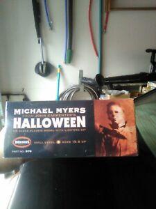 "Moebius 1/8 Michael Meyers ""Halloween""  With LED Lighting Model Kit Sealed!"