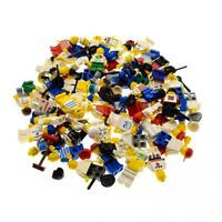 5x Lego City Mini Figuren Town weiss bedruckt mit gemischt