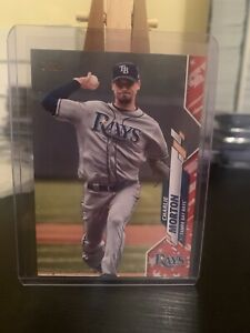 Charlie Morton 2020 Topps Series 2 #406 Independence Day Parallel 08/76
