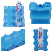 2PC Reuseable Ice Packs Box For Cooler Breastmilk Storage  Bottle 600ml
