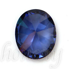 9x11mm Blue Oval Shape Cut 4.52ct Sapphire Loose GEMSTONE Gem Stone