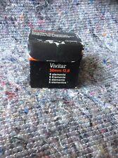 VIVITAR ENLARGER LENS 50mm 1:2.8 Darkroom Dark Room Equipment