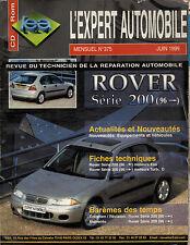 RTA revue technique l'expert automobile n ° 375 ROVER SERIE 200