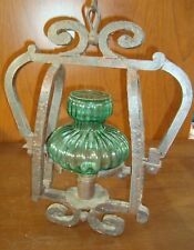 Spanish Colonial Wrought Iron Pendant Lamp Art -  10 kilo weight !