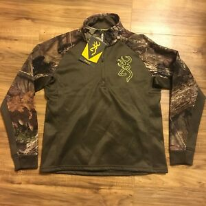 Browning Womens Bellum Mossy Oak 1/4 Zip Jacket MOBUC 18732670 Multiple Size