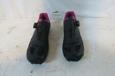 Louis Garneau Women's Granite II MTB cycling shoes EU 41 US 10 Black Retail $160