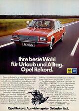 Opel-Rekord-1974-Reklame-Werbung-vintage print ad-Vintage Publicidad