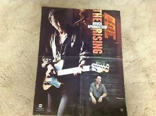 BRUCE SPRINGSTEEN Promo Poster The Rising CD Record vintage 20x16 lp!!