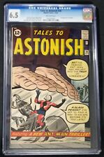 Tales To Astonish #36 CGC 6.5 3rd Appearance of Ant-Man • Old Case