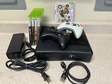 Microsoft Xbox 360S 250Gb/ 4Gb Bundle, Model # 1439, 2 Controllers, 5 Games