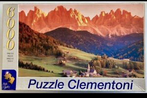 6000, Clementoni, The Dolomites, Santa Maddalena
