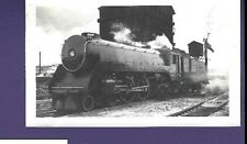 Canadian Pacific CP 4-4-4 Steam Locomotive #2910 Vintage B&W Railroad Photo