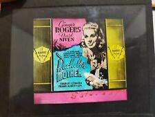 Bachelor Mother Original Glass Movie Slide 1939 Ginger Rogers